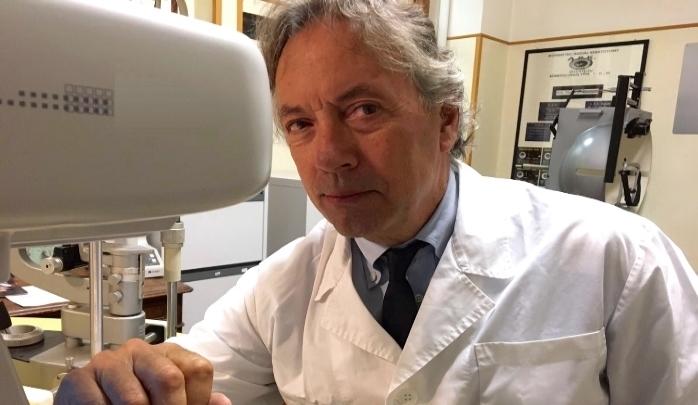 Il Dr. Abbondanza, oculista specialista del cheratocono da oltre 30 anni